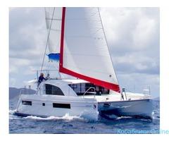 Экскурсии на парусной яхте - катамаране