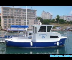 Аренда катера Отдых и рыбалка в открытом море