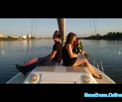 Прогулки на яхте в Омске