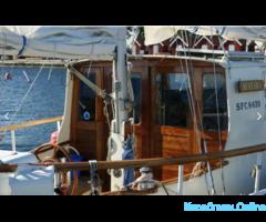 Рыбалка и экскурсии на парусной яхте в Балтийске