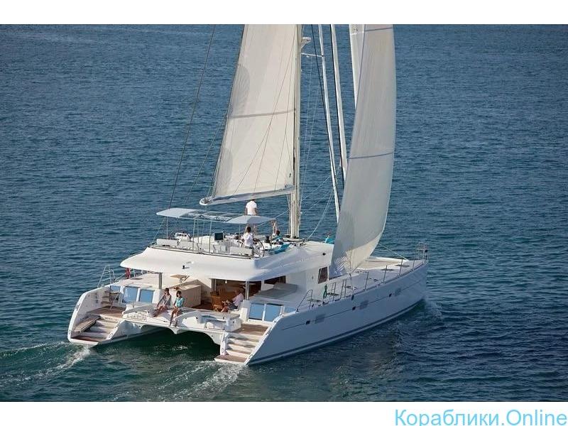 Парусная яхта-катамаран VIP класса - 2/8
