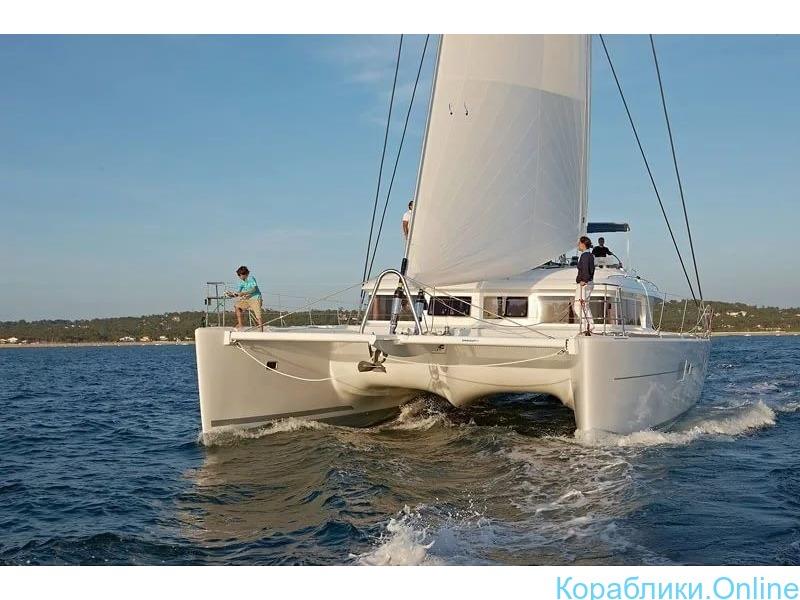 Парусная яхта-катамаран VIP класса - 4/8