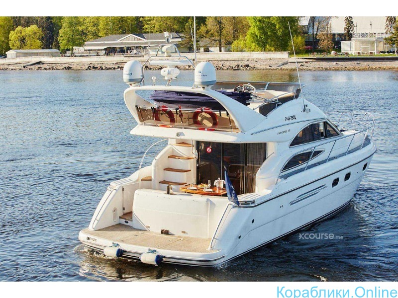 Аренда VIP-яхты Princess 45 - 1/8
