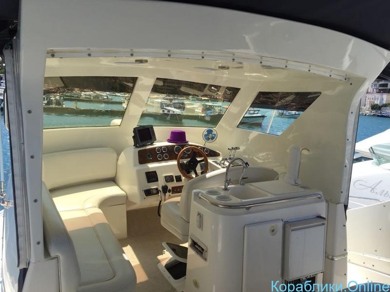 """Яхта с флайбриджем """"Silverton"""" - 4/8"""