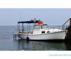 Катер для рыбалки и прогулок