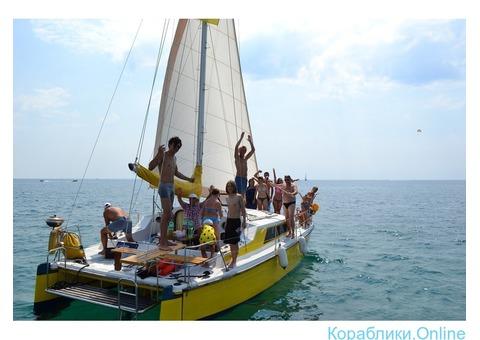Морские прогулки на яхте/рыбалка