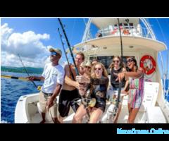 Рыбалка с яхты