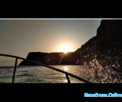 Морские прогулки, экскурсия, рыбалка