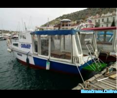 Морские прогулки и экскурсии на катере в Балаклаве