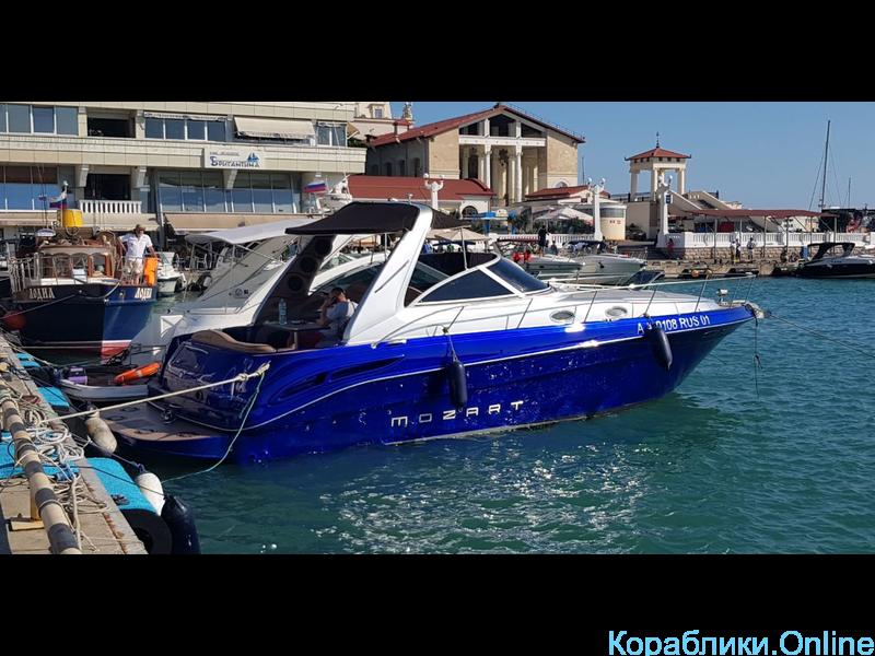 Прокат моторного катера - Sea Ray 340 «Моцарт» - 1/7