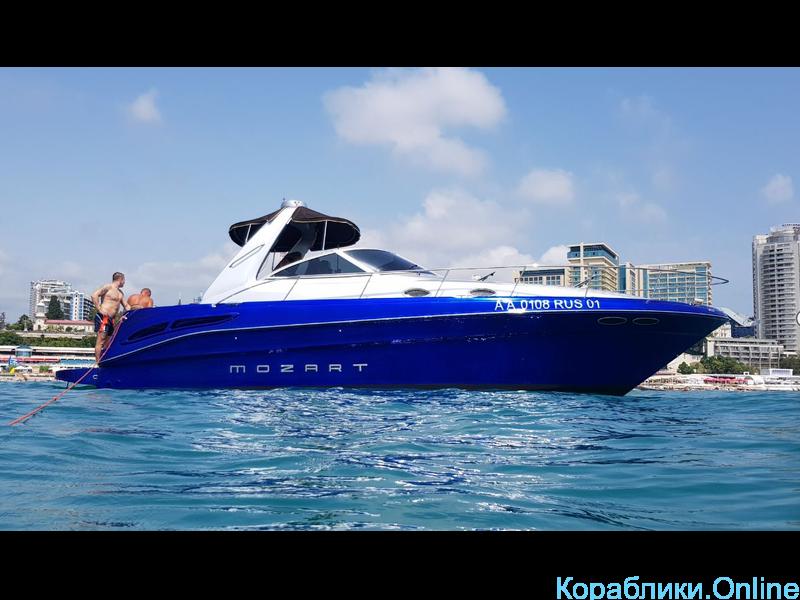 Прокат моторного катера - Sea Ray 340 «Моцарт» - 2/7