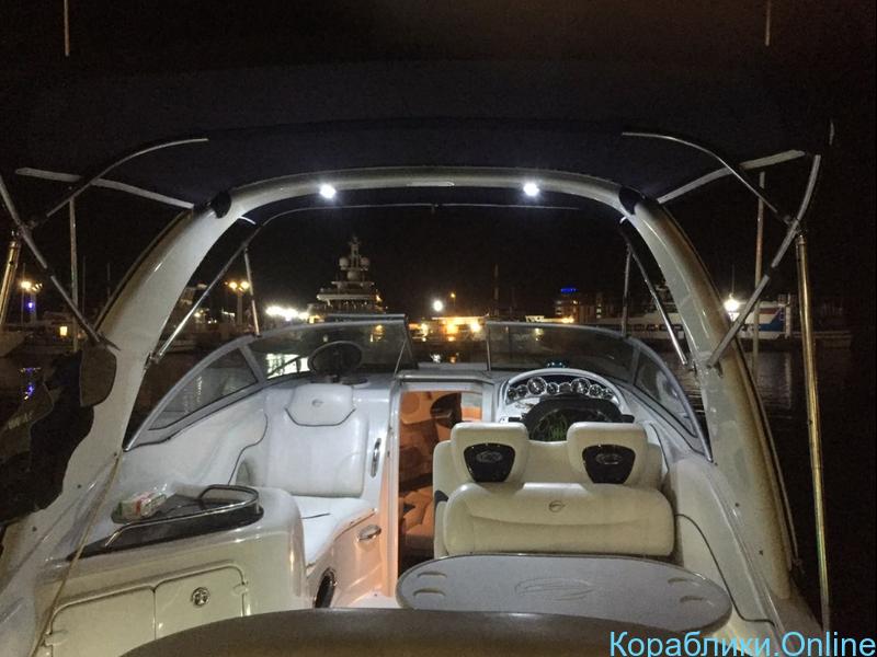 Прокат моторного катера - Crownline 270 CR «СОФИЯ» - 4/8
