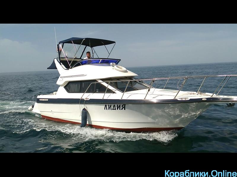 Прокат яхты в Сочи - Bayliner 288 Discovery «ЛИДИЯ» - 1/8