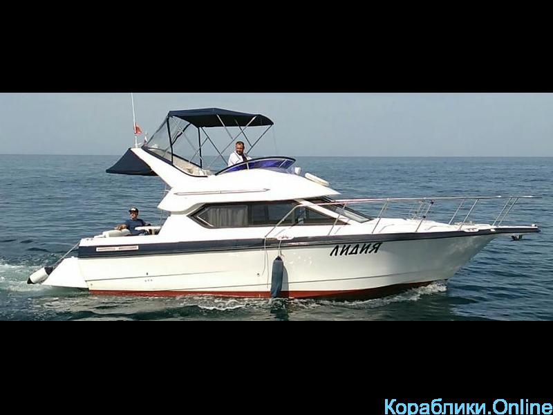 Прокат яхты в Сочи - Bayliner 288 Discovery «ЛИДИЯ» - 2/8