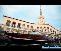 Прокат ретро катера - «Prestige» в Сочи
