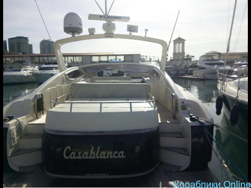 Прокат яхт в Сочи - Primatist G43 «CASABLANCA» - 3/8