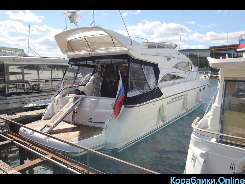 Прокат яхты в Сочи - Princess 56 - 3/8