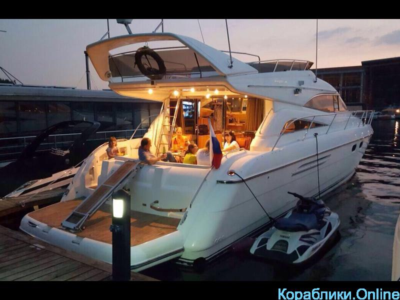 Прокат яхты в Сочи - Princess 56 - 5/8