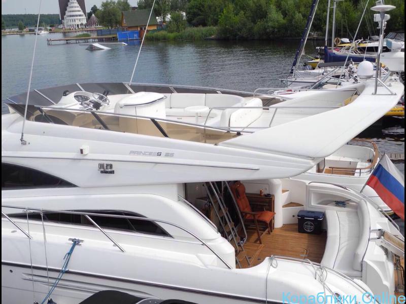 Прокат яхты в Сочи - Princess 56 - 6/8