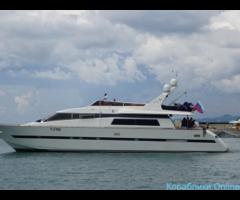 Прокат яхт в Сочи - Challenger 80 «Анастасия»