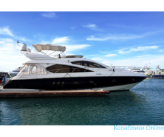 Прокат яхты в Сочи - Sunseeker 60 «Manhattan»