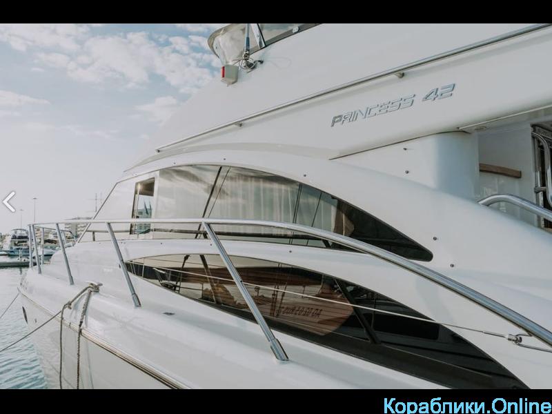 Прокат яхты в Сочи - PRINCESS 420 - 3/8