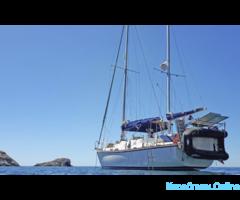 7 дней на яхте под парусами по Крыму!