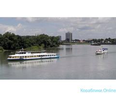 Речные прогулки по реке Кубань на теплоходе