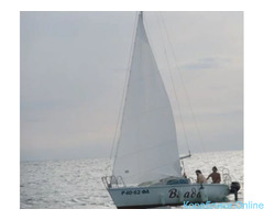 Морская прогулка по чёрному морю на парусной яхте