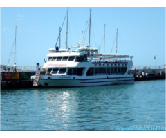 Морское путешествие на большом прогулочном катере Саламандра