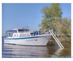 Прогулки на Голладской моторной яхте