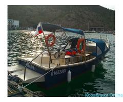Рыбалка с катера в Балаклаве