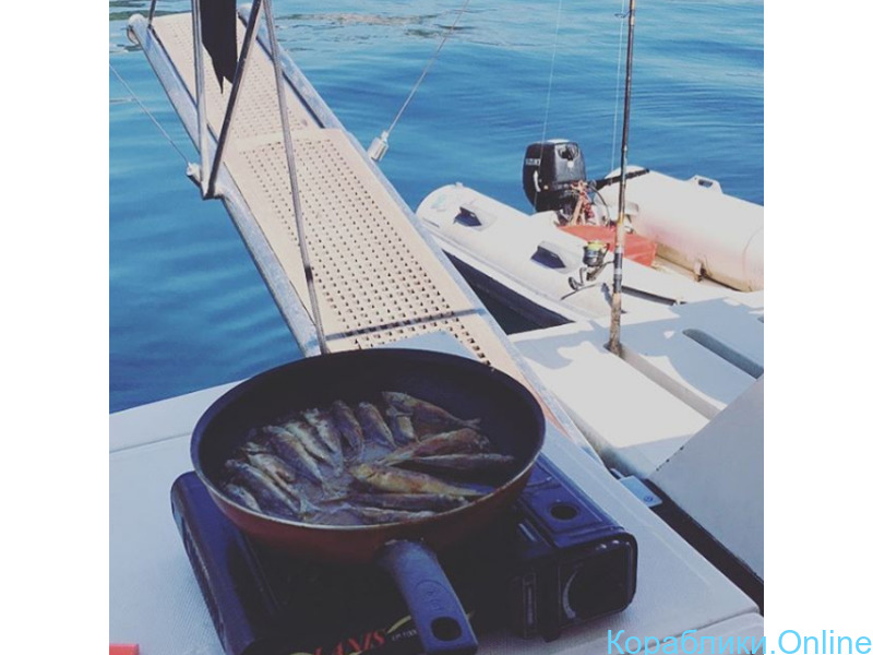 Прогулки, мангал, рыбалка. Яхта Raffaela. - 2/8