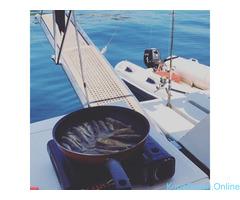 Прогулки, мангал, рыбалка. Яхта Raffaela. - Изображение 2/8