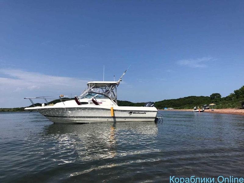 Морская рыбалка с катера Wellcrat 240 coastal до 6 человек - 1/7