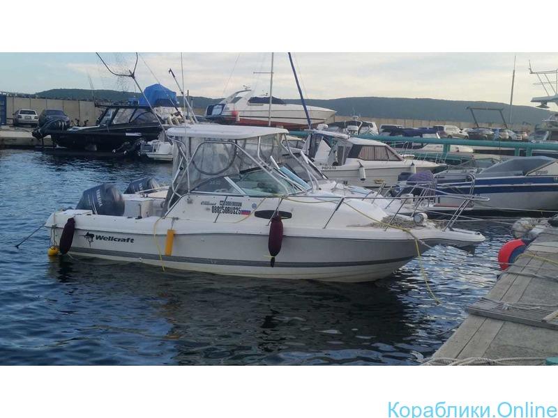 Морская рыбалка с катера Wellcrat 240 coastal до 6 человек - 2/7