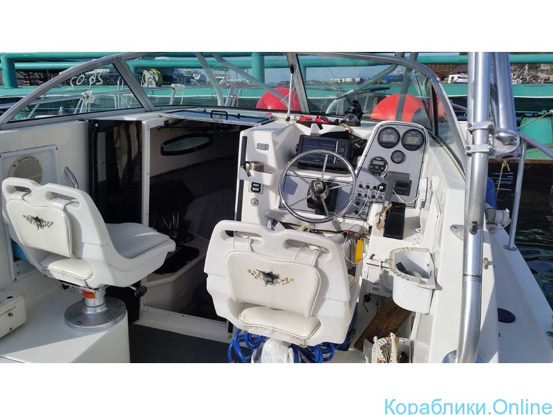 Морская рыбалка с катера Wellcrat 240 coastal до 6 человек - 5/7