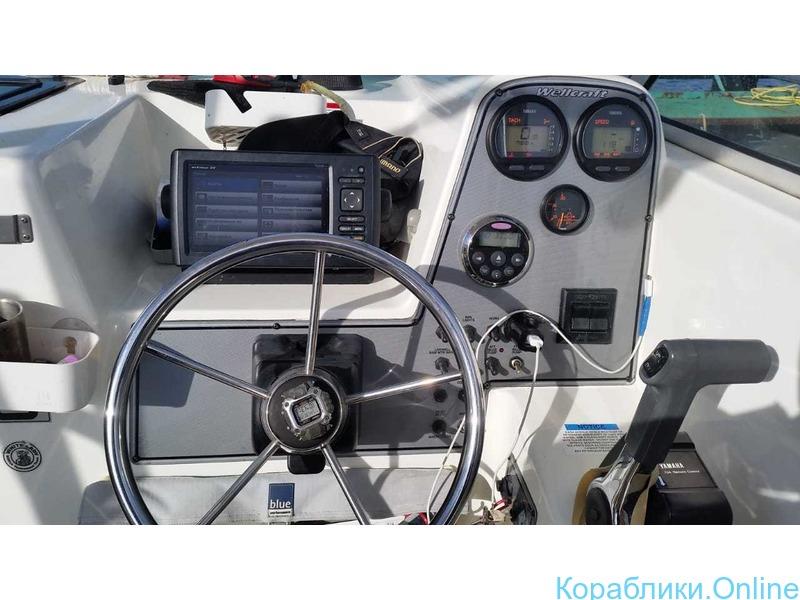 Морская рыбалка с катера Wellcrat 240 coastal до 6 человек - 6/7