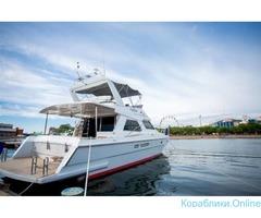 Комфортный отдых на моторной яхте
