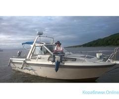 Катер FR-27 для рыбалки и отдыха
