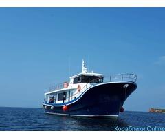 Аренда моторной яхты вместимостью до 35 человек