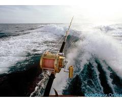 Утренняя и вечерняя рыбалка в море с катера