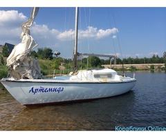 Прокат аренда парусной яхты