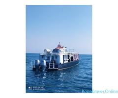 Морские прогулки, отдых в море, рыбалка, экскурсии