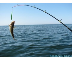 Морская рыбалка на яхте в Сочи