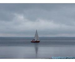 Прогулки на парусной яхте по озеру Увильды