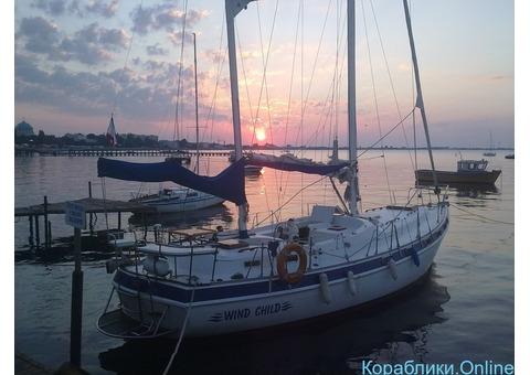 Аренда парусно-моторной яхты