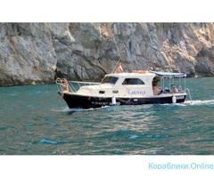 Аренда прогулочного катера Алания