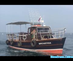 Морские прогулки, рыбалка с катера в Алуште