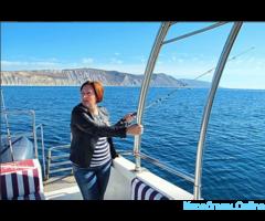 Морская рыбалка на Черном море в Анапе
